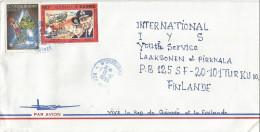 Guinea 1995 N'Zerekore Winter Olympic Games Albertville Crosscountry Skiing WWII Naval Operation Cover - Guinee (1958-...)