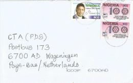 Nigeria 2006 Ibara Rotary N50 Writer Chinua Acebe N20 Cover - Nigeria (1961-...)