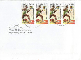 Nigeria 2003 Oyo N20 Athletics Running Africa Games Cover - Nigeria (1961-...)