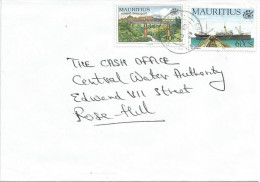 Mauritius Maurice 1999 SS Zambezia Ship Train Railways Domestic Cover - Mauritius (1968-...)