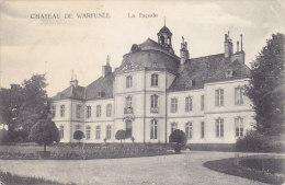Ch�teau de Warfus�e - la Fa�ade (pli vertical au 1er tiers...)