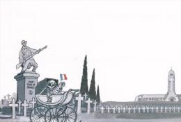 Carte Postale TARDI Jacques Expo Putain De Guerre Paris 2014 - Cartoline Postali
