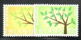 ICELAND 1962  EUROPA CEPT MNH - 1962