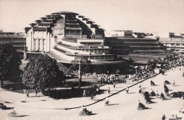 Carte Photo Du Marché Central De Pnom-Penh Vers 1960 Cambodge Indochine - Cambodja