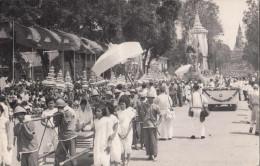 Pnom-Penh Cérémonie D'incinération De La Dépouille Royale De Preah Bat Samdech Preah NORODOM Cambodge Indochine 2 Scans - Cambodja