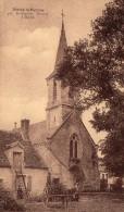 Cpa NURET Le FERRON, Indre, Par St-Gaultier, L'église Et La Petite Ferme Tout Près  (40.73) - France