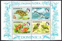 DOMINICA 300a  **  FAUNA   FLORA - Dominica (...-1978)
