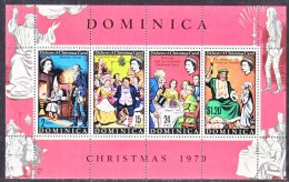 DOMINICA 307a  *   CHARLES  DICKENS  CHRISTMAS - Dominica (...-1978)