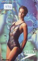 Télécarte Japon EROTIQUE (4790) EROTIC *  *  Japan PHONECARD EROTIK * BIKINI GIRL * FEMME  SEXY LADY - Moda