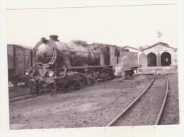 CHEMINS DE FER - TRAINS - CPM - MIKADO BREDA 1952 (7111-7120) - PATRAS-DEPOT 1962 - - Treni