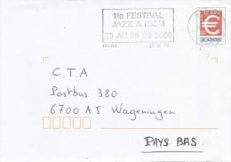 France 2000 Riom Jazz Festval Stationary Cover - PAP:  Varia (1995-...)