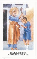 San Samuele Profeta Consacra San Davide Rè - M6 - Santini