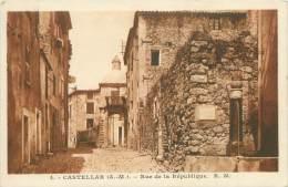 06 - CASTELLAR - Rue De La République - Sin Clasificación