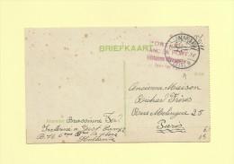 Militaires Etrangers Internes Dans Les Pays Bas - Franc De Port - 1877-1920: Semi Modern Period