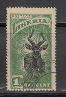 Liberia    Scott No. 163    Used      Year  1918 - Liberia