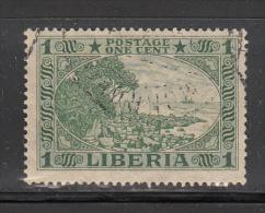 Liberia    Scott No. 183    Used    Year  1921 - Liberia