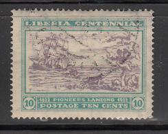 Liberia    Scott No.  212   Used    Year  1923 - Liberia