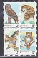U.S. 1763a   **  FAUNA  BIRDS  OWLS - United States