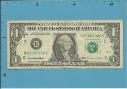 U. S. A. - 1 DOLLAR - 1995 - Pick 496 - NEW YORK - Billetes De La Reserva Federal (1928-...)