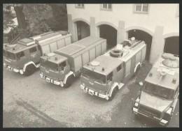 BASEL FEUERWEHR Katastrophenfahrzeuge Deutz Magirus F 6L Und F 232 D Feuerwehrmuseum 1978 - Sapeurs-Pompiers