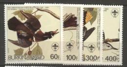 Burkina Faso  N°  649 à 652  Neuf XX  Cote  10,25 Euros Au Quart De Cote - Burkina Faso (1984-...)