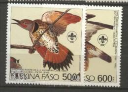 Burkina Faso  PA N°  288 & 289  Neuf XX  Cote  12,00 Euros Au Quart De Cote - Burkina Faso (1984-...)
