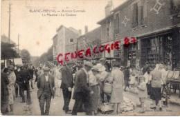 93 -  LE BLANC MESNIL - AVENUE CENTRALE   LE MARCHE - LE CINEMA   RARE - Le Blanc-Mesnil
