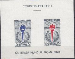 PGL W331 - PEROU BF Yv N°4 ** JEUX OLYMPIQUES - Peru