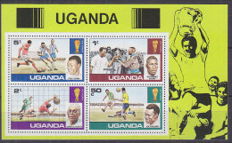 B0927 - OUGANDA UGANDA BF Yv N°8 ** FOOTBALL - Uganda (1962-...)