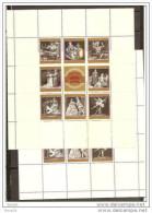 1969 Austria 100° OPERA DI STATO DI VIENNA  VIENNA STATE OPERA 3 Foglietti Di 8v. MNH** 3 Souv.Sheets - Musica