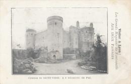 CPA - Le Château St Vidal - A 8 Km Du Puy - France