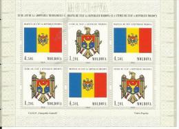 MD 2010- INDEPENDENT DAY, MOLDAVIA, MS, MNH - Briefmarken