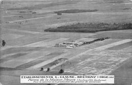 ESSONNE  91  BRETIGNY SUR ORGE  ETABLISSEMENTS CLAUSE  FERME DE LA MAISON NEUVE  AGRICULTURE  VUE AERIENNE  LOZERE - Bretigny Sur Orge