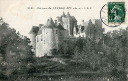 3141 - Château De FAYRAC (date 1907) - France