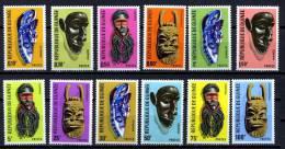 Rep. Guinée ** N° 304 à 315 - Masques - Guinea (1958-...)