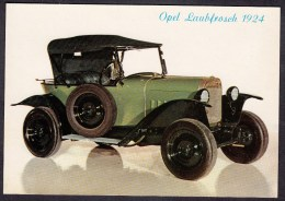 OPEL LAUBFROSCH 1924 - Auto/Car/Voiture - Deutschland ..... NOT   Used.. Scans  For Condition. ( Originalscan !!! ) - Postcards