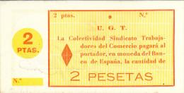 BILLETE LOCAL GUERRA CIVIL 2 PTS GUADIX - Espagne