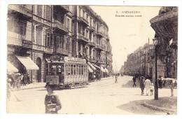 Ägypten - ALEXANDRIA - Ramleh Station Street - Tramway - - Alexandrie