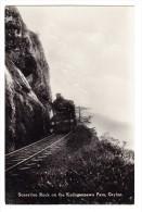 SRI LANKA - CEYLAN - Zug Bei Dem Kadugannawa Pass - Sri Lanka (Ceylon)
