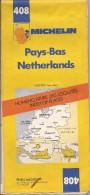 Cartes Michelin 408 - 1977 (1er édition) - Pays-Bas - Nomenclature Des Localités - Cartes Routières
