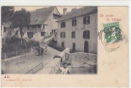 Un Saluto Da Valcava, Animata - Retro Interessante Con Annullo Di 1902     (140713) - Italia