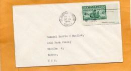 Newfoundland Canada 1949 FDC - 1908-1947