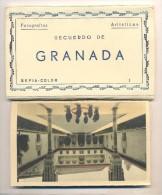 CUADERNILLO DE GRANADA CON 10 POSTALES - Granada