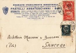 BARI 1941 - CARTOLINA PUBBLICITARIA - S3524 - Bari