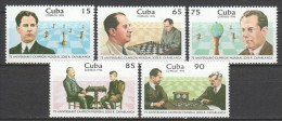 Cuba 1996 Mi 3954-3958 MNH CHESS - Chess