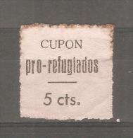 Viñeta Cupon Pro Refugiados.- - España