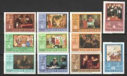 Nicaragua 1976 Mi 1919-1929 + Block 92A / 92B MNH CHESS - Schaken