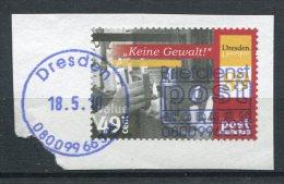 BRD Post Modern Nr.136         O  Used       (013) Briefstück - [7] Federal Republic