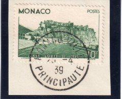 MONACO : N°184 .1939 .10F STADE . SUR FGT . TB . - Monaco