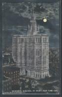 - CPA USA - New York, Municipal Building By Night - Hudson River